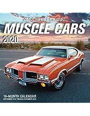 American Muscle Cars 2020: 16-Month Calendar - September 2019 through December 2020