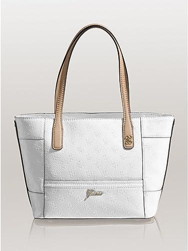 0832390326fa Amazon.com  Guess Reiko Carryall Medium Tote Bag
