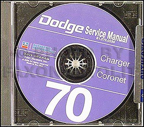 1970 Dodge Charger, Coronet, & Super Bee CD Repair Shop Manual ()