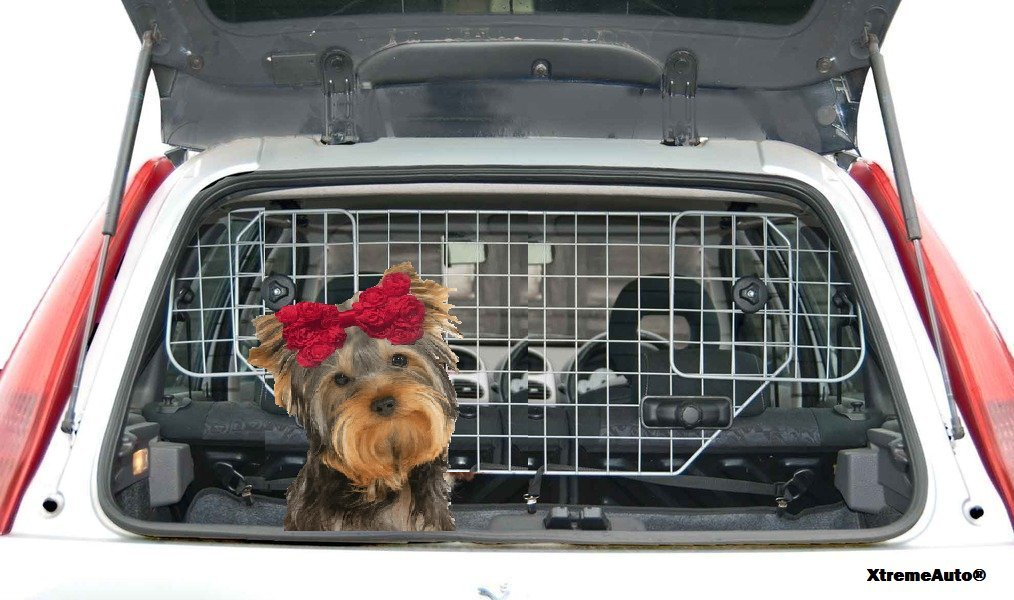 XtremeAuto Barrière de voiture pour chien universelle Ultra résistante avec sticker XtremeAuto XtremeAuto®