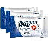 Toallitas Desinfectantes 75% Alcohol 10 Paquetes 10 Pz C/u