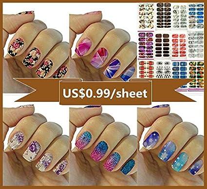 Buy 12 Premium Sheets108 Sheet Love Nest Nail Art Tips