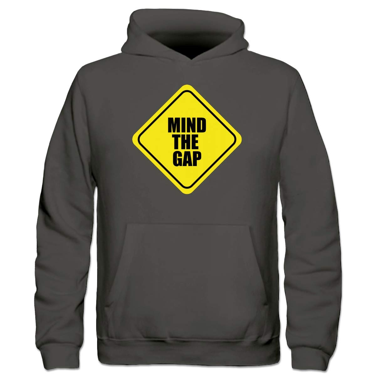 Shirtcity Sudadera con Capucha niño Mind The Gap Warning by: Amazon.es: Ropa y accesorios