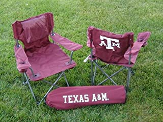 Rivalry NCAA Texas A&M Aggies Youth Folding Chair With Carrying Case (B002MY4OYU) | Amazon price tracker / tracking, Amazon price history charts, Amazon price watches, Amazon price drop alerts
