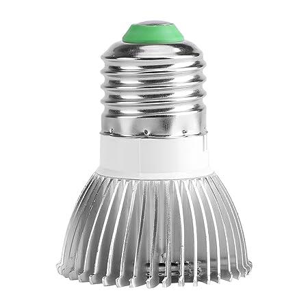 #1 GU10 85-265V 18W 18 LED Grow Light Flower Plant Bombilla de Crecimiento hidrop/ónico Full Spectrum E27 Jacksking L/ámpara de Cultivo Grow Light E14