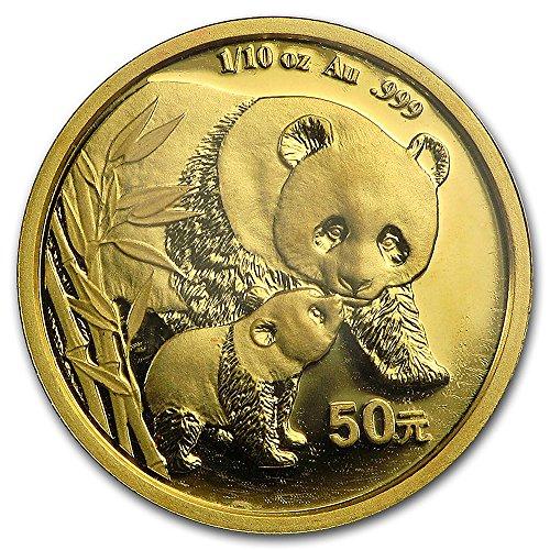 14k Gold 1/10 Gold Panda Bezel Diamond Cut 18mm coin Screw Top by Sabrina Silver (Image #3)