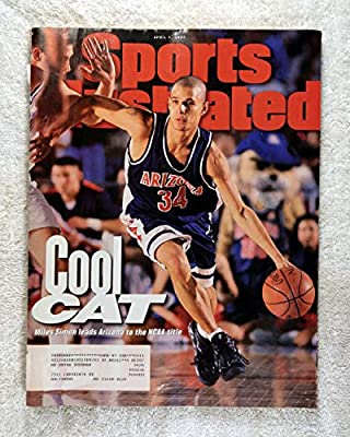 Miles Simon - Arizona Wildcats - 1997 NCAA Champions! - Sports Illustrated - April 7, 1997 - Kentucky Wildcats - College Basketball - SI