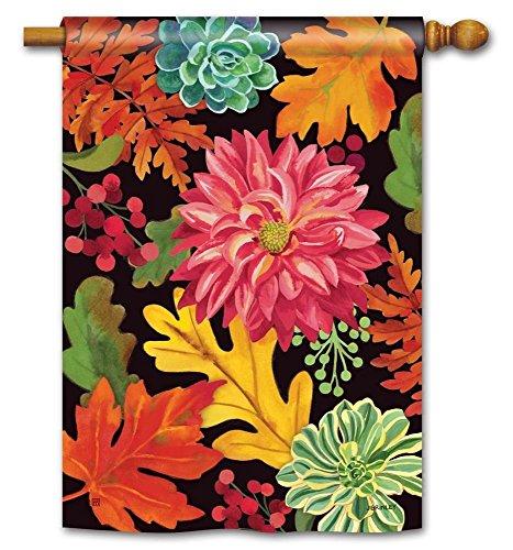 Breeze Art Vibrant Autumn Mix House Flag - 28