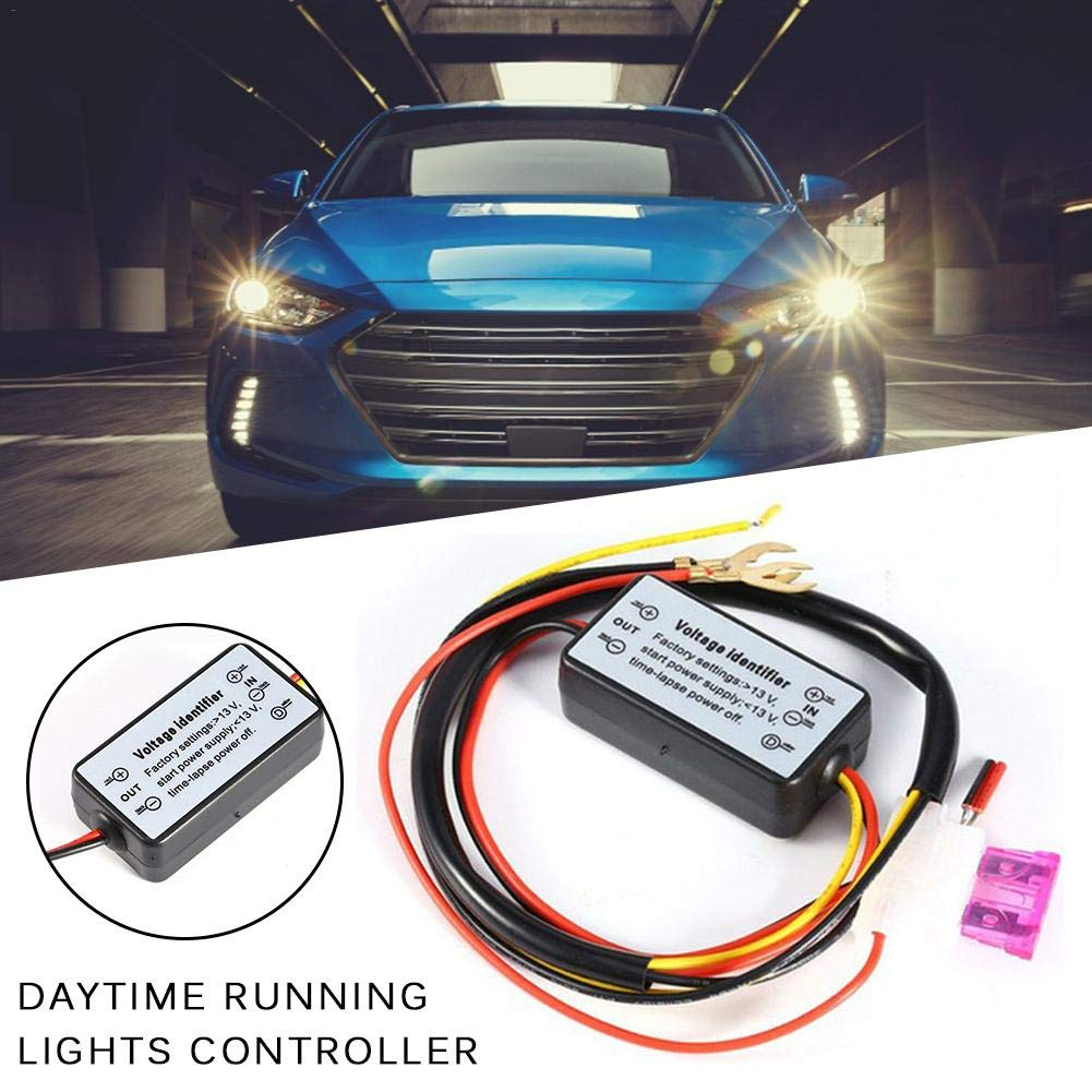 navigatee DRL-Controller Auto Car LED Tagfahrlicht Licht Steuermodul 12-18V