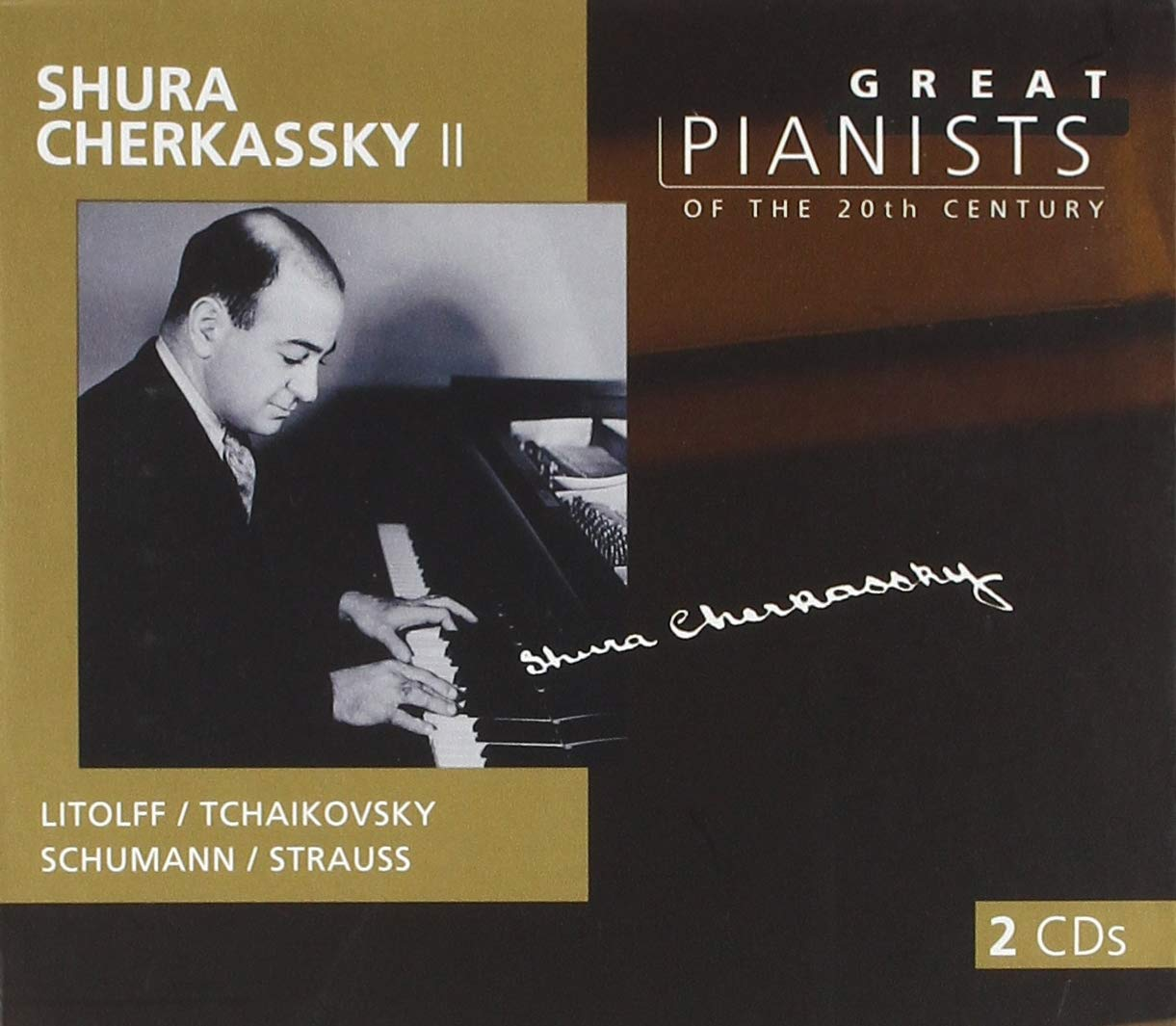 Great Pianists of the 20th Century - Shura Cherkassky Vol. 2 by Philips