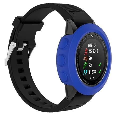 Para Garmin Fenix 5 GPS reloj elegante carcasa funda de repuesto,Y56 concisa carcasa Silicagel