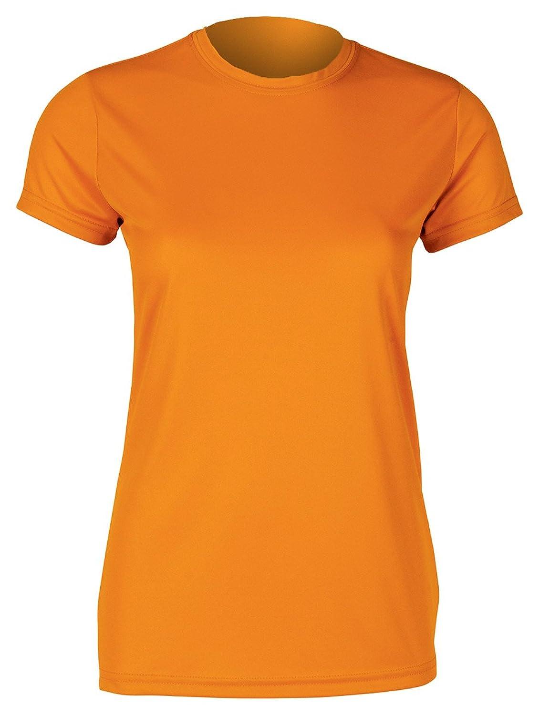 Paragon Ladies' Performance Tee (Orange) (S)