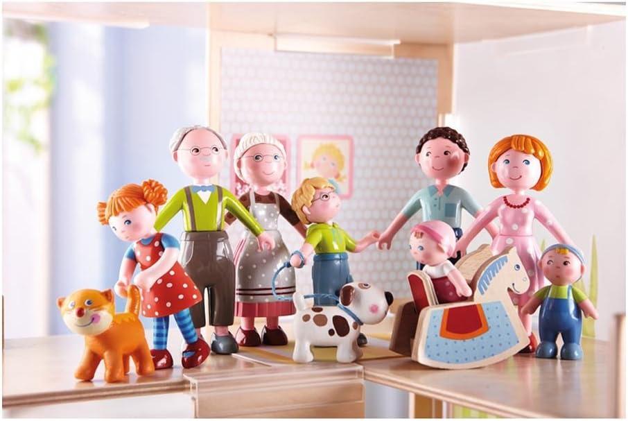 HABA Little Friends Farmer Franz 4.5 Bendy Doll Adult Figure