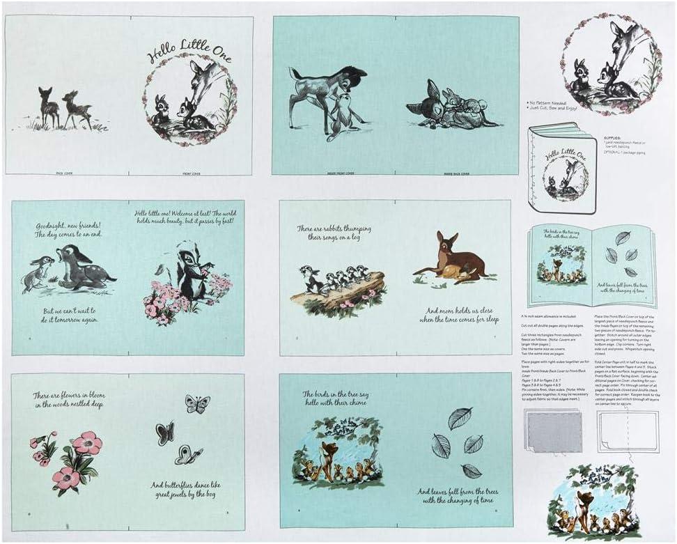 Studio e Fabrics ~ Welcome Little One Baby ~ 100/% Cotton Soft Fabric Book Panel