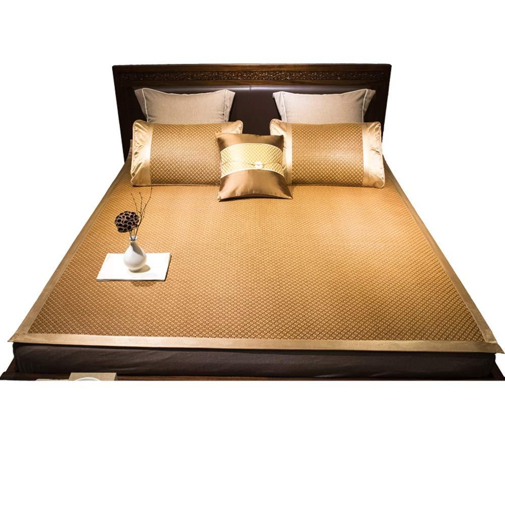 YONG FEI Rattan-Kühlmatte - Faltbare Dual-Use-Rattansitze für den Sommer - fünf Größen verfügbar Sommer-Schlafmatte (größe   180X220cm)  120X195cm