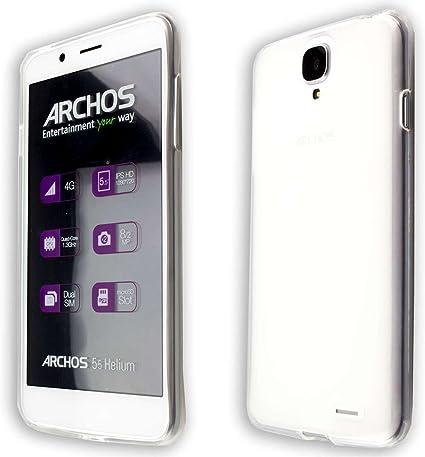 Funda Archos 55 Helium 4 Seasons TPU-Carcasa, Protección contra choques para el Smartphone (Funda Carcasa en Transparente): Amazon.es: Electrónica