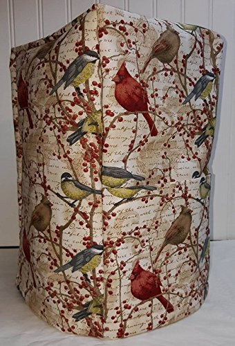 Birds Berries Coffee Maker Cover