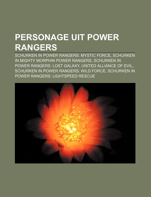 Personage uit Power Rangers: Schurken in Power Rangers ...
