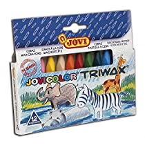 Jovi Trimax Pack de 12 Ceras Triangulares (146009)