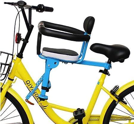 GW Carretera montaña Bicicleta eléctrica Silla niños niños bebé Asiento Delantero Estera cómodo Seguro: Amazon.es: Hogar