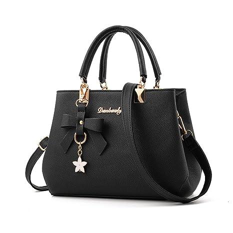 318e5f61b6d9e Magic Zone Damen Handtaschen Fashion Handtaschen für Frauen PU Leder  Schulter Taschen Messenger Tote Taschen