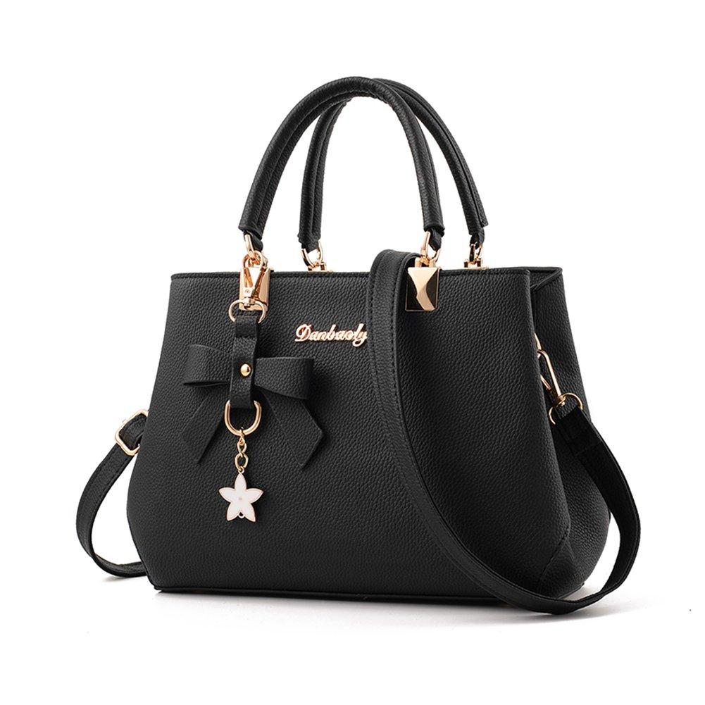 7b4ea7f17b Fantastic Zone Women s Leather Handbags Fashion Handbags for Women Ladies  Bags Handbags