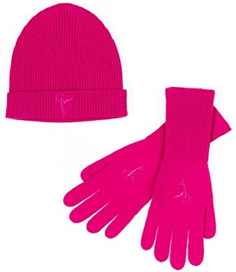 d4b1de97340 Women s Purple Hat   Glove Set - 100% Cashmere - Citizen Cashmere ...