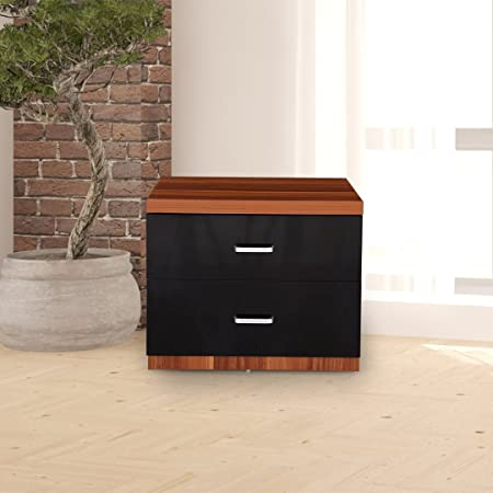 Royaloak Iris Bedside Table (Maple)