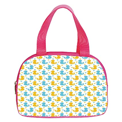 74d4bc222544 Amazon.com  iPrint Personalized Customization Small Handbag Pink ...