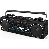 Sylvania Bluetooth Cassette Radio Boombox Portable Speaker