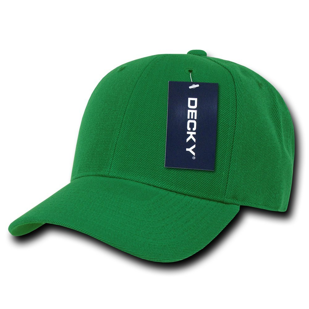 DECKY Fitted Cap, Kelly Green, 7 1/2 by DECKY