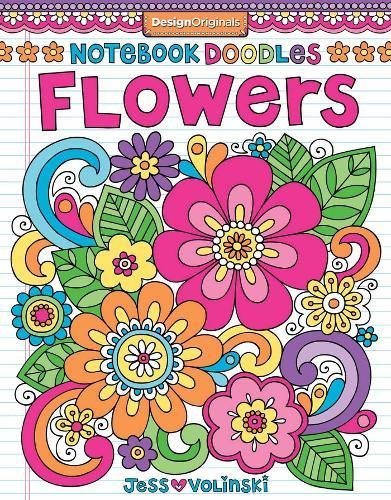 Notebook Doodles Flowers Beginner Friendly High Quality product image