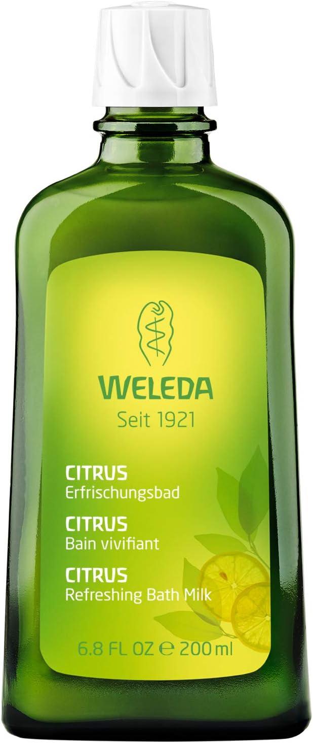 WELEDA(ヴェレダ) シトラス バスミルク 200mL【シトラスの爽やかな香り】 幅73m×高さ167mm×奥行43mm<br />