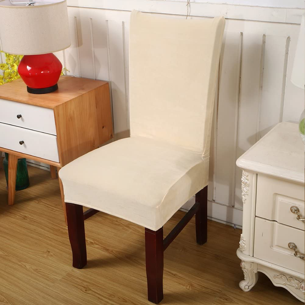 Fundas elásticas de terciopelo para silla de comedor – Funda de ...