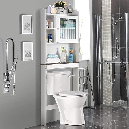 Amazon Com Giantex Over The Toilet Space Saver Collette Bathroom