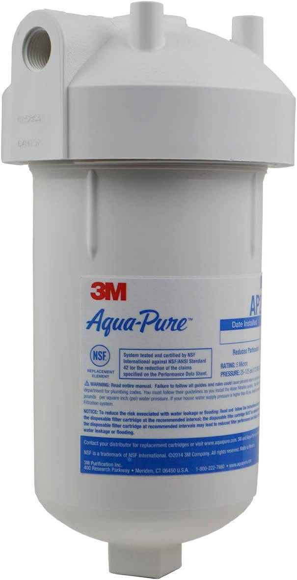 3M Aqua-Pure Under Sink Full Flow Water Filter System AP200, 5528901 - Replacement Undersink Water Filtration Filters - .com