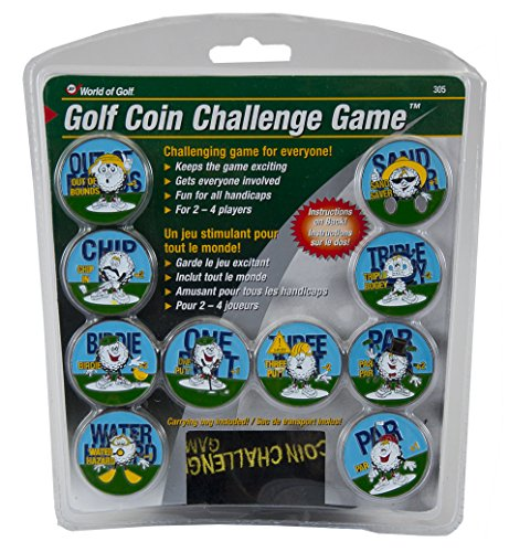 Golf Gifts and Gallery Coin Challenge -