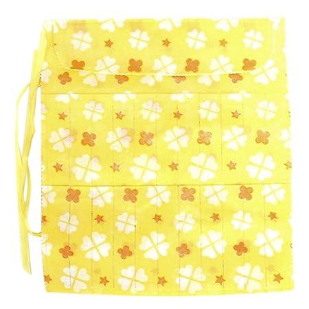 Tendoc 22 Slot Knitting Needle Pin Case Bag Holder Random Color