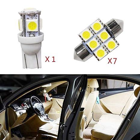 Cobear para CX-5 Super Brillante Fuente de luz LED Interior Lámpara de Coche Bombillas