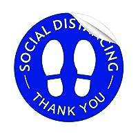 Social Distancing Floor Decal Stickers Morcart 12
