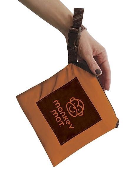 Amazon.com: Monkey Mat: Tu Suelo Portátil – Naranja Amanecer ...