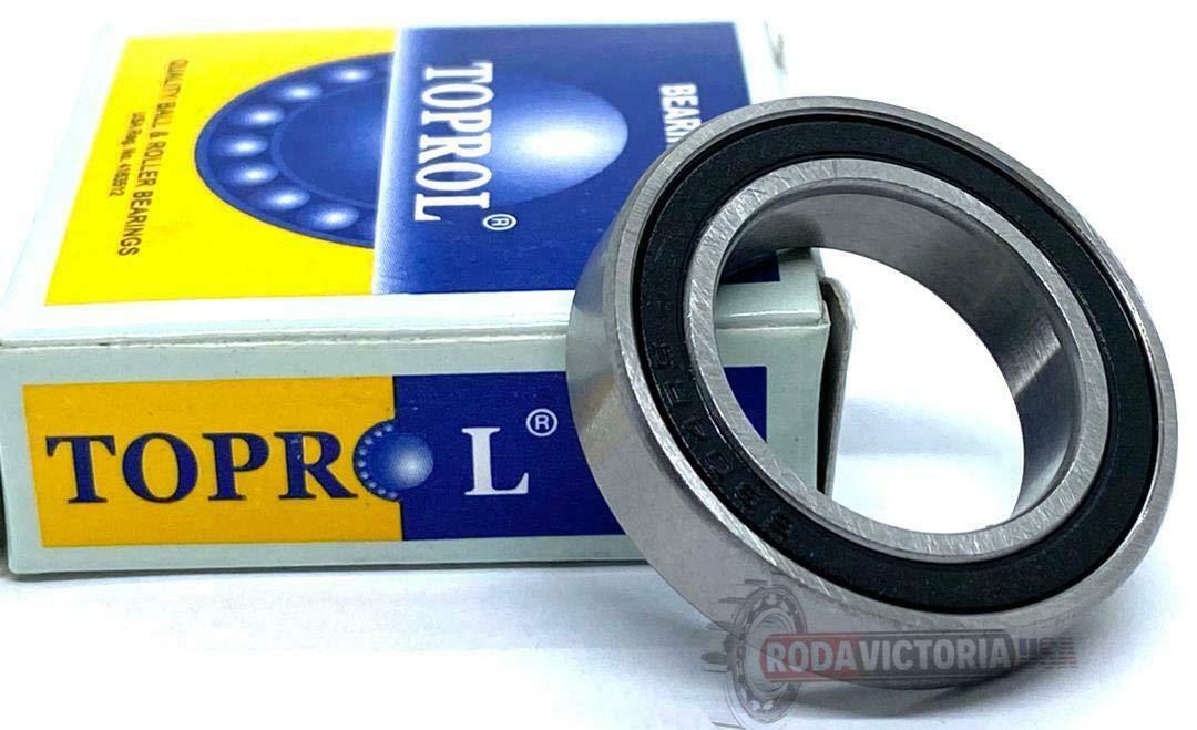 Ball Bearings TOPROL 6805-2RS Premium Sealed Bearing 6805 RS ABEC3 61805