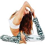 Women's Tree Pattern Prints Gym Workout Leggings Fitness Sports Pants Running Elastic Waist Yoga Tights