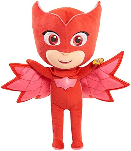 IndusBay PJ Masks 14 Feature Soft Toy - Owlette
