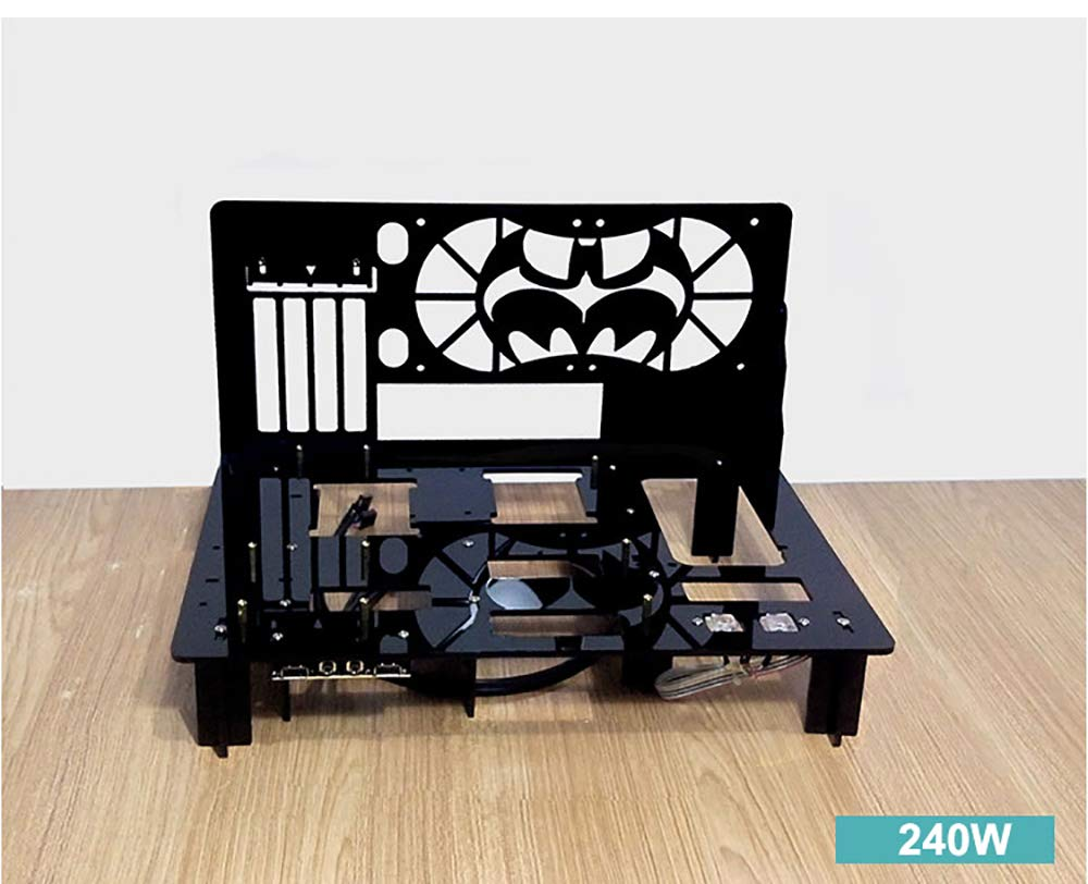 Pc Test Bench Open Frame For Atx Matx Motherboard Acrylic Computer Case Diy Mod Host Stand 240 120 Water Cooling Overlock