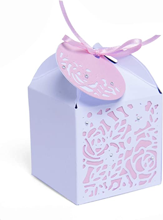 Troquel Sizzix Thinlits Die Set 4 piezas- Caja de regalo decorada ...