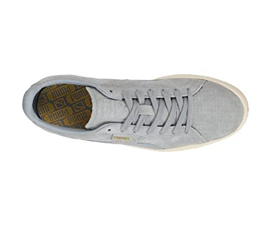 Puma Suede Classic Perforation chaussures bleu blanc dans le