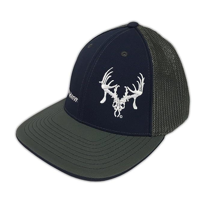 56ef5f3a45c8d ... switzerland texas trophy hunters association brand navy black trophy  hunter flexfit hat s m 464c2 4648c ...