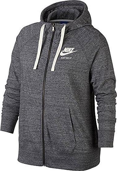 48072e4ecdad Amazon.com  Nike NSW Gym Vintage Full Zip Hoodie (Size 1X-3X ...