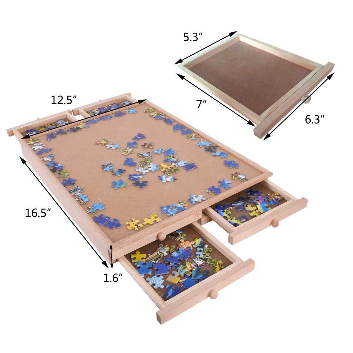 Vencer Wooden Puzzle Storage- 8 Sliding Drawers System by Vencer
